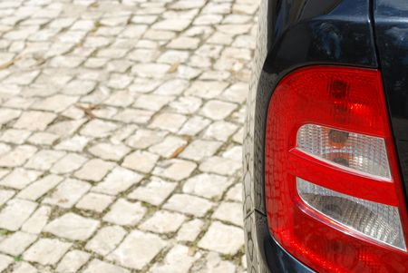 photo of a vehicle back light Stock Photo - 4873744