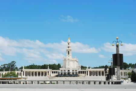 neo-classical style from 1928 of Sanctuary of Fatima