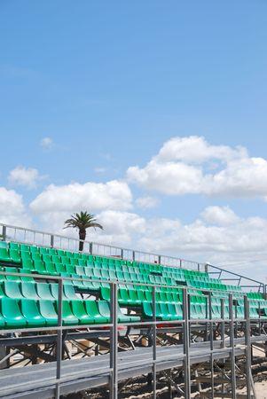 gradas estadio: foto de las gradas del estadio verde en la playa