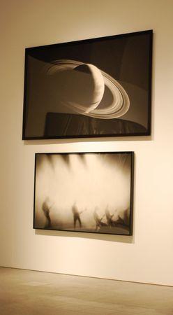 retrospective: LISBON - MARCH 25: retrospective exhibition from Robert Longo at CCB on March 25, 2011 - Lisbon, Portugal  Editorial