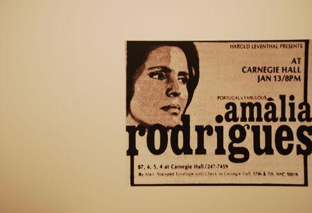 gallerie: LISBON, PORTUGAL - OCTOBER 9: Fado Singer Amália Rodrigues Exhibition at Centro Cultural de Belem October 9, 2009 in Lisbon, Portugal Editorial