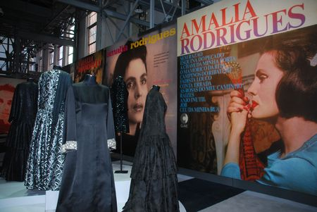 lia: LISBON, PORTUGAL - OCTOBER 9: Fado Singer Am�lia Rodrigues Exhibition at Electricity Museum October 9, 2009 in Lisbon, Portugal