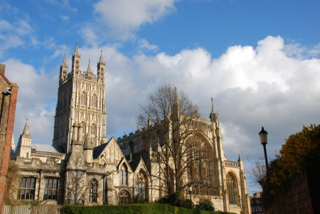 the famous Gloucester Cathedral, England (United Kingdom) Stock Photo - 7210760
