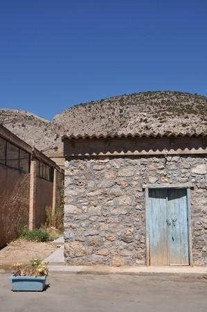 greek fisherman house in Kalymnos island, Greece Stock Photo - 8298189
