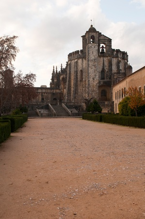Templar Church at the Convent of Christ in Tomar, Portugal (build in the 12th century) photo