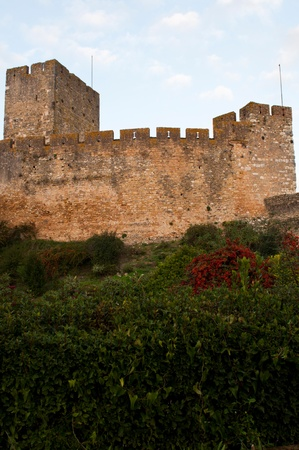 Templar Castle fortress at the Convent of Christ in Tomar, Portugal (build in the 12th century) photo