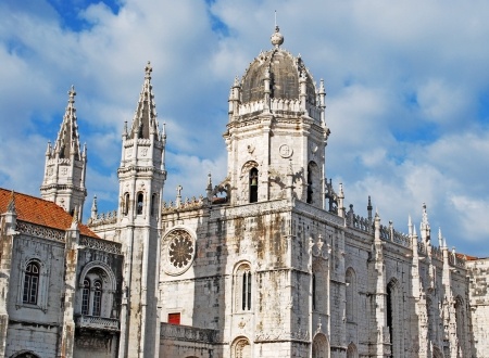 lisbonne: famous Hieronymites Monastery in Lisbon, Portugal Editorial