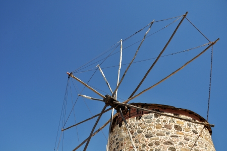 kos: beatiful windmill in Antimahia (Kos), Greece