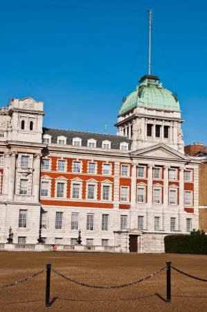 government building: Admiralty House also known as Old Admiralty Office in London, England  against a blue sky  Editorial