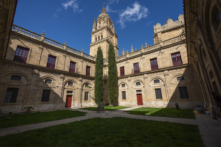 Cloister of the Cathedral of Salamanca, Spain.