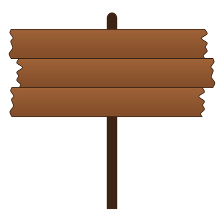 Old Blank Wooden Sign