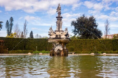 Fountain of the National Palace of Queluz, Portugal