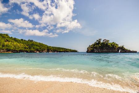 Crystal beach, Nusa Penida, Indonesia