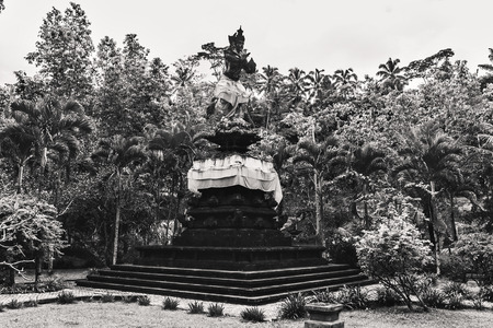 Ancient Balinese statues, hinduism, religion, Bali, Indonesia