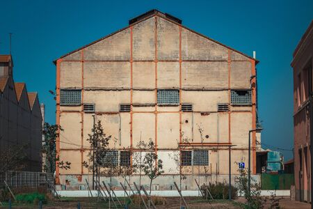 Abandoned Buildings in Barreiro,in  Lisbon, Portugal