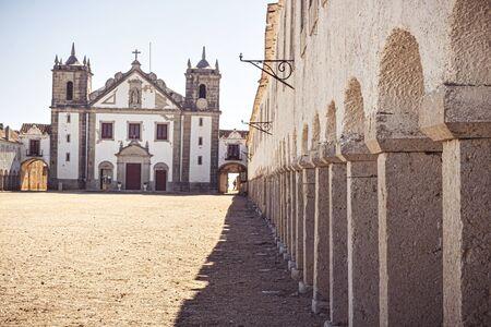 Cabo Espichel, former monastery built on the Cape, Sesimbra, Portugal