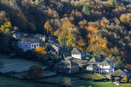 Small agricultural and livestock village between the forests and meadows of the eastern mountains of Lugo, in Ancares, Cervantes, Galicia