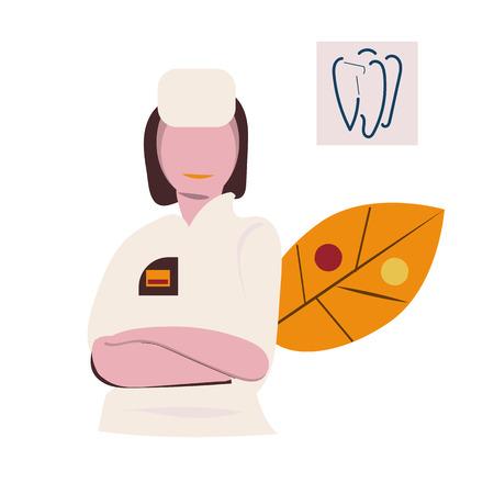 Consultation médicale et accompagnement en ligne. Médecin en ligne. Illustration vectorielle. Icônes
