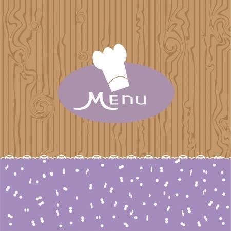 design menu   cute vector illustration