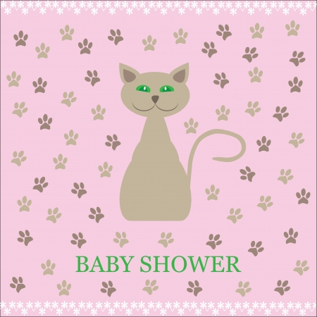 shower  baby,  cute vector illustration Stock Vector - 20153908