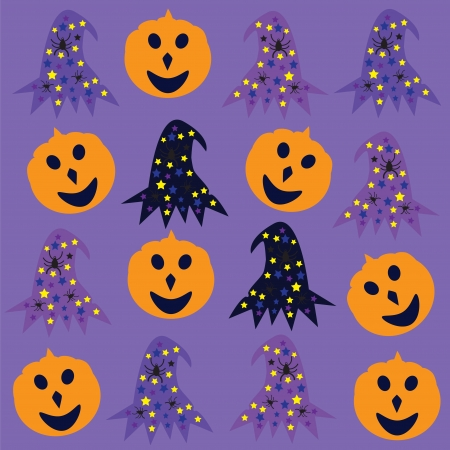 halloween  background  cute vector illustration