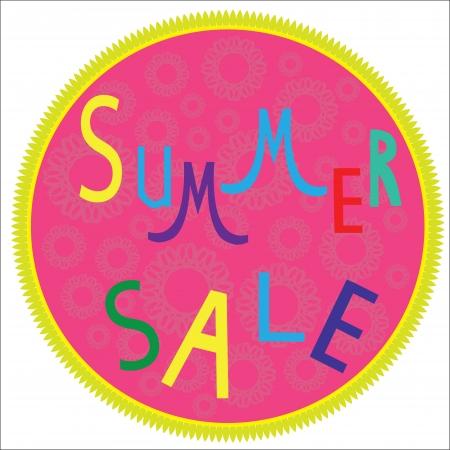 Summer sale template,  summer fashion sale,  summer sale icon.