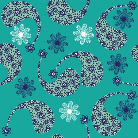 Paisley seamless pattern (pattern Bootha).  Stock Vector - 22861798