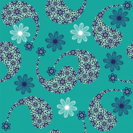 Paisley seamless pattern (pattern Bootha). Stock Vector - 22861798