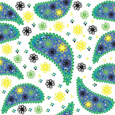 Paisley seamless pattern. Stock Vector - 22861975