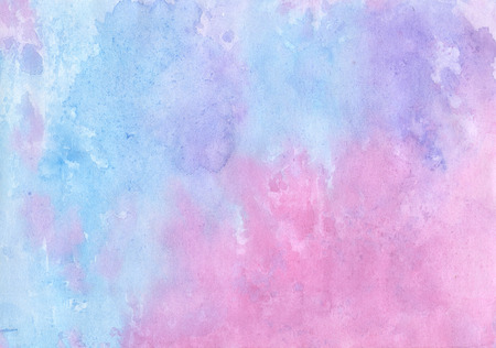 Handmade  colorful  aguacolor   backdrop   for scrapbooking, for the manufacture of postcards, cards, envelopes and other design   photo