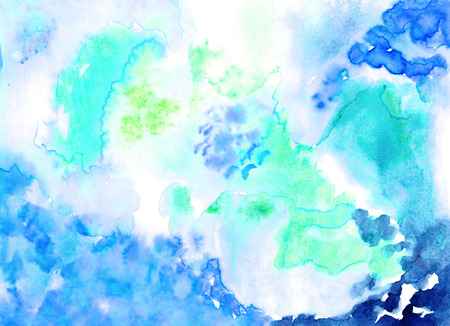 Handmade watercolour  image for different design.  Stock Photo