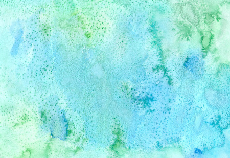 Abstract colorful  background.  Handmade   texture in green and blue colors. Handcrafted  image  for design cards, postrcards,  envelopers and other purposes