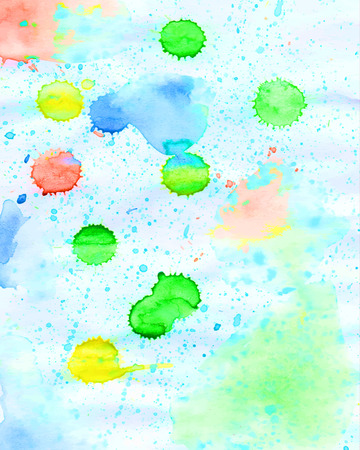 handiwork: Watercolour and digital painting background. Bright  handiwork  backdrop or cover. Template for scrapbooking