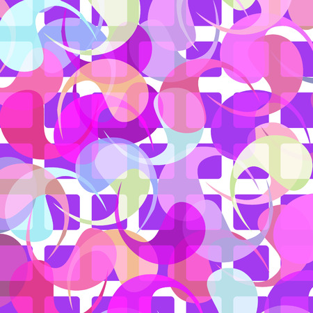 Paisley background, colorful vector illustration Vector