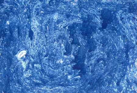 painterly effect: Ebru gouache blue wash drawing  soft backdrop for different design and scrapbooking