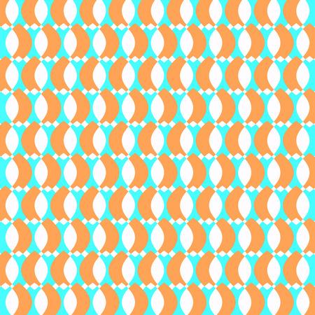 odd: Geometric retro odd colorful  abstract  illustration Stock Photo