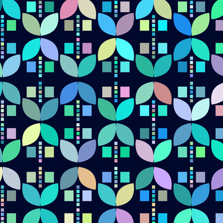 odd: Geometric odd colorful  abstract background, illustration