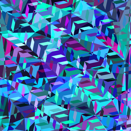 odd: Geometric odd colorful  abstract background Stock Photo