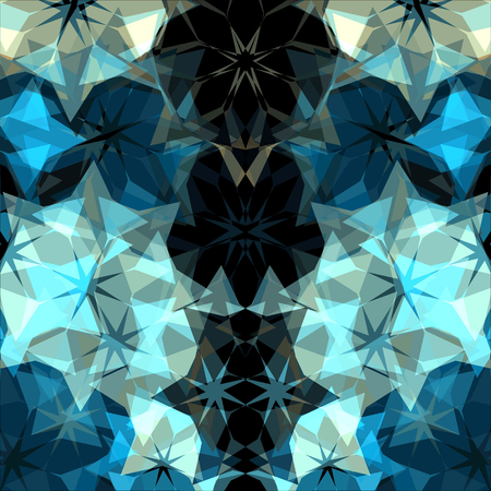 Geometric abstract modern triangles background
