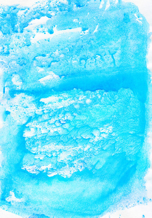 Watercolour blue  gentle  soft abstract  wet drawing  backdrop