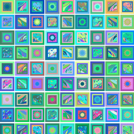 rectangles: Geometric abstract rectangles background ,vector image Illustration