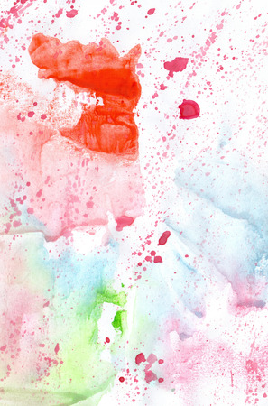 wash painting: Watercolour abstract soft gentle handmade wash painting background