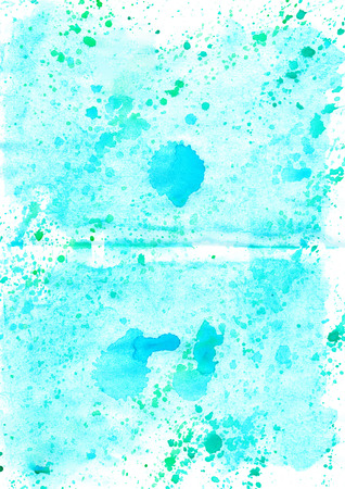 Watercolour abstract hand drawing wash  painting grunge shabby  background for design  Stock Photo