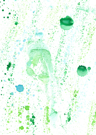 Watercolour abstract hand drawing wash  painting  shabby  backdrop for design