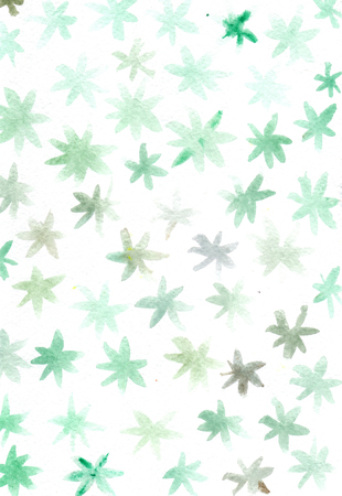 smudgy: Watercolor pastel simple abstract flowers
