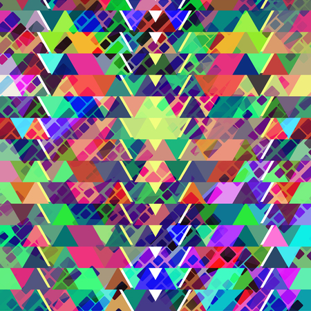 Geometric abstract modern vector background Illustration