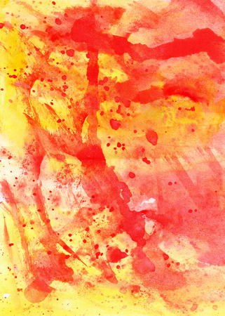 Cute abstract watercolor vivid background design Stock Photo
