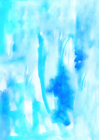 Watercolor painting soft handmade aging background