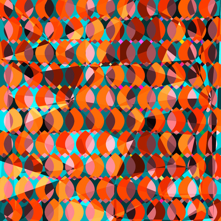 Geometric abstract vivid background