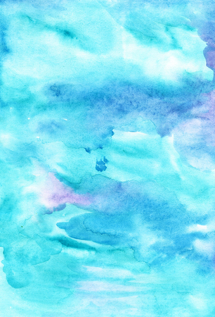 Handicrafted   watercolour background for scrapbooking and other design